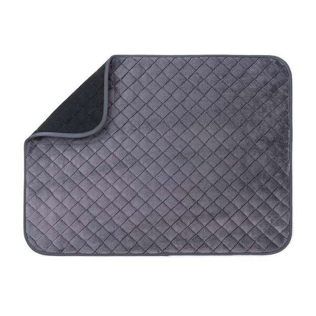 Freezack Bed Knight Mat Black Grey Medium Pet: Dog Category: Dog Supplies  Size: 0.5kg Colour: Black...