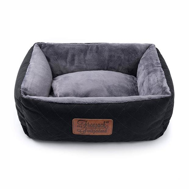 Freezack Bed Knight Black Grey Medium Pet: Dog Category: Dog Supplies  Size: 1.6kg Colour: Black  Rich...