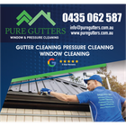 PURE GUTTERS WINDOW AND PRESSURE CLEANING