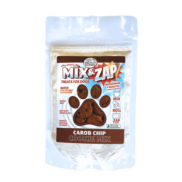 Mix And Zap Double Carob Chip Cookie Mix 200g Pet: Dog Category: Dog Supplies  Size: 0.2kg  Rich...