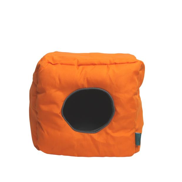 Ts Small Animal Cube Fluro Orange Each Pet: Small Pet Category: Small Animal Supplies  Size: 0.3kg...