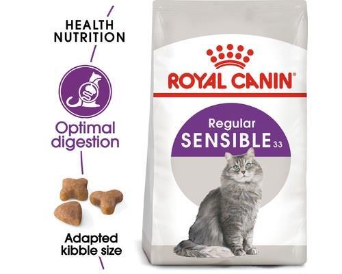 ROYAL CANIN SENSIBLE ADULT CAT DRY FOOD 4KGRoyal Canin Sensible cat food is for adult cats 1 - 7 years...