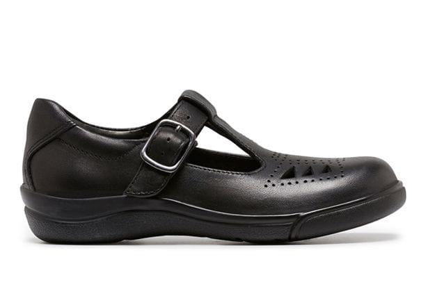Absorbing impact by cleverly using the Clarks Active Air technology making them kind on kids feet...