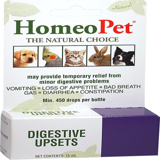 Homeopet Digestive Upsets 15ml Pet: Dog Category: Dog Supplies  Size: 0kg  Rich Description: Developed...