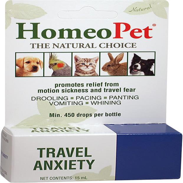 Homeopet Travel Anxiety 15ml Pet: Dog Category: Dog Supplies  Size: 0kg  Rich Description: Developed by...