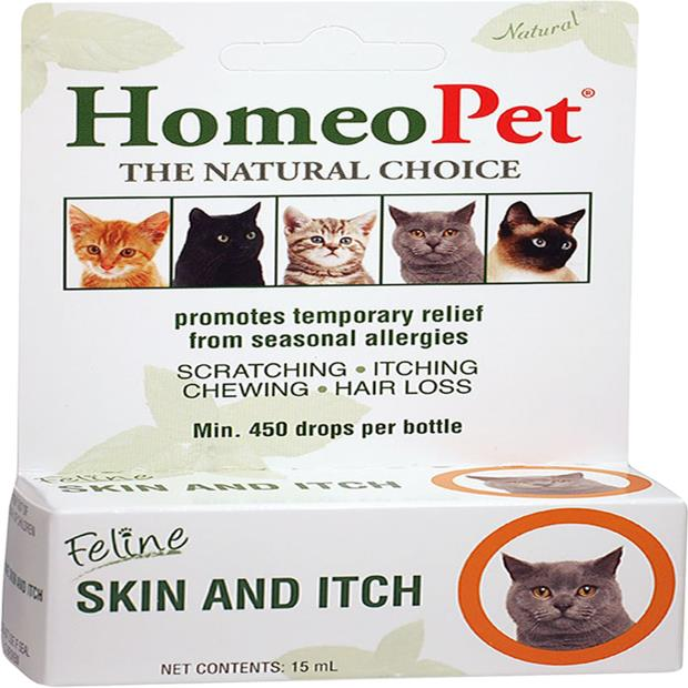 Homeopet Feline Skin And Itch 15ml Pet: Cat Category: Cat Supplies  Size: 0kg  Rich Description:...