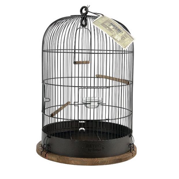 Zolux Retro Bird Cage Lisette Each Pet: Bird Category: Bird Supplies  Size: 3.5kg  Rich Description:...