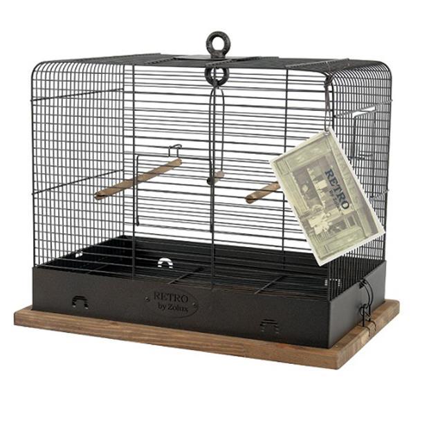 Zolux Retro Bird Cage Celestine Each Pet: Bird Category: Bird Supplies  Size: 4kg  Rich Description:...