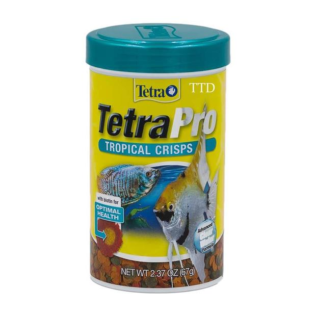 Tetra Pro Tropical Crisps 67g Pet: Fish Category: Fish Supplies  Size: 0.1kg  Rich Description: Tetra...