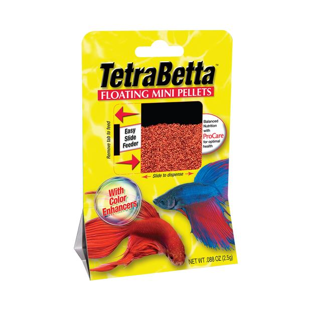 Tetra Betta Mini Pellets 4.5g Pet: Fish Category: Fish Supplies  Size: 0kg  Rich Description: Tetra are...