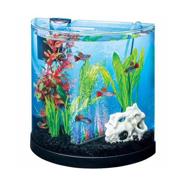 Tetra Colour Fusion Half Moon Starter Kit 11L Pet: Fish Category: Fish Supplies  Size: 2.5kg  Rich...