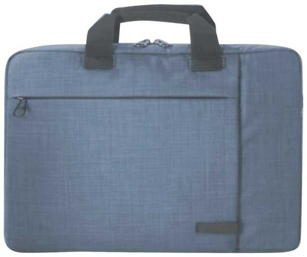 Have room for your laptop plus accessories with this TUCANO laptop case's 16-inch capacity. It has a...