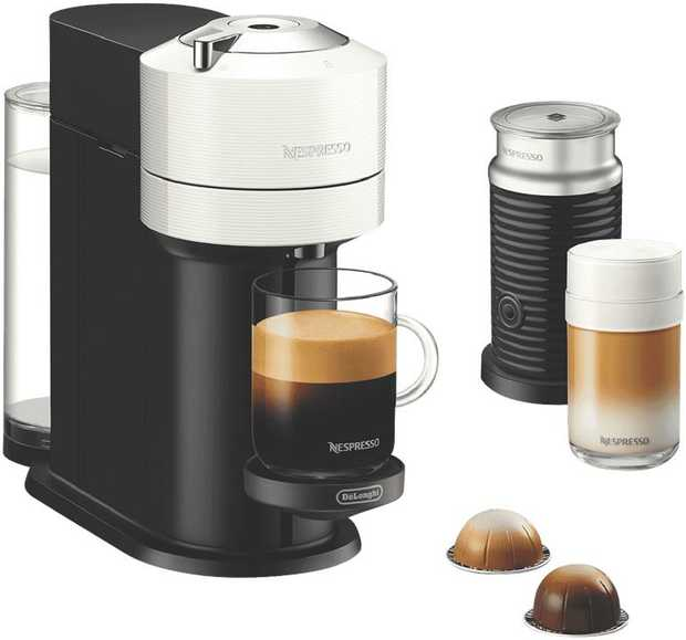 Coffee brewed exactly to your liking is effortless with the all-new Nespresso Vertuo Next Bundle ...