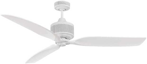 You can relax under the perfect-size fan with this Mercator ceiling fan's 1300mm blade diameter. Its 3...