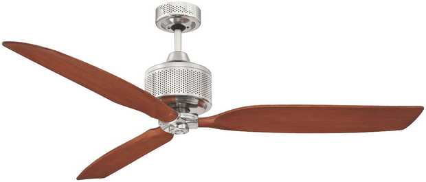 This Mercator ceiling fan's 1300mm blade diameter lets you take the temperature down several notches.