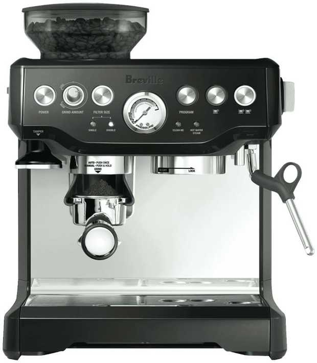 Kick start your day with cafe-quality coffee from the comfort of home with this Breville the Barista...