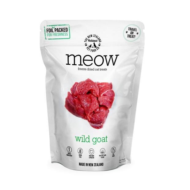 Nz Natural Meow Wild Goat Cat Treat 50g Pet: Cat Category: Cat Supplies  Size: 0.1kg  Rich Description:...