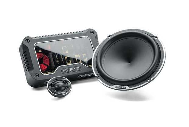 The Hertz MLK 1650.3 Legend car audio speakers system is a two way kit dedicated to purists , aiming at...