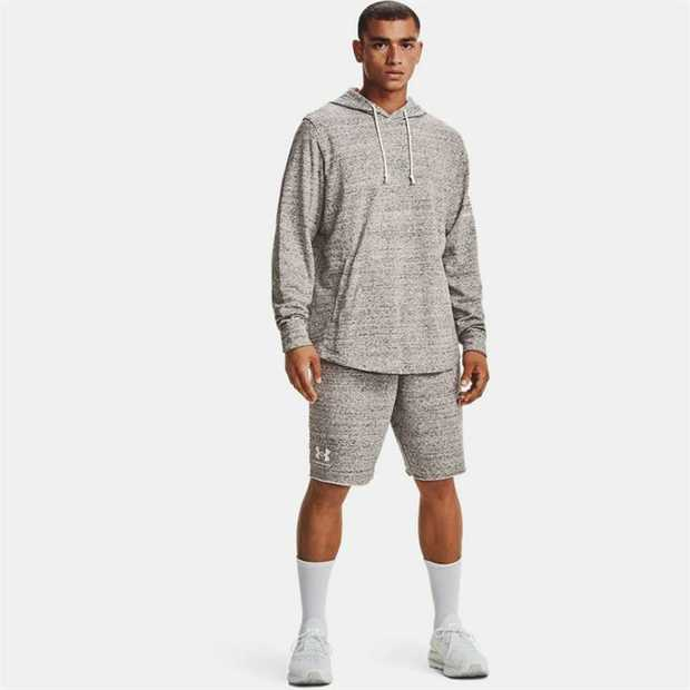 French Terry has a smooth outer layer & a warm, soft inner layer Material wicks sweat & dries really...