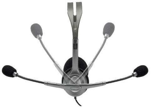 Noise-canceling microphone Full stereo sound Flexible, rotating boom Versatile design Adjustable...