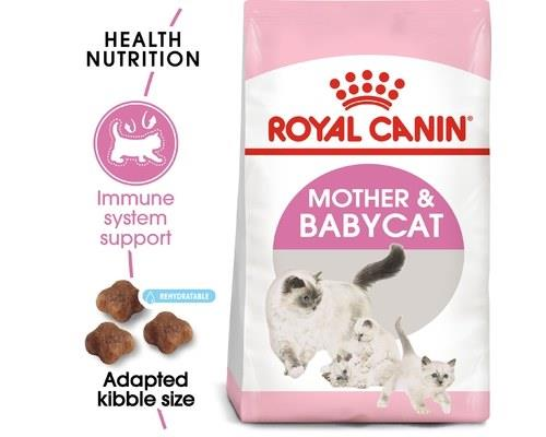 ROYAL CANIN MOTHER AND BABYCAT KITTEN DRY FOOD 2KGThis Royal Canin cat food is designed for both mother...