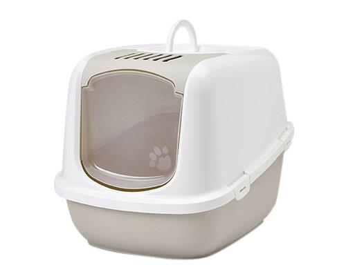 SAVIC NESTOR JUMBO LITTER TRAY - WHITE/MOCHAThe Hooded Nestor Jumbo is a discrete and ideal way to let...