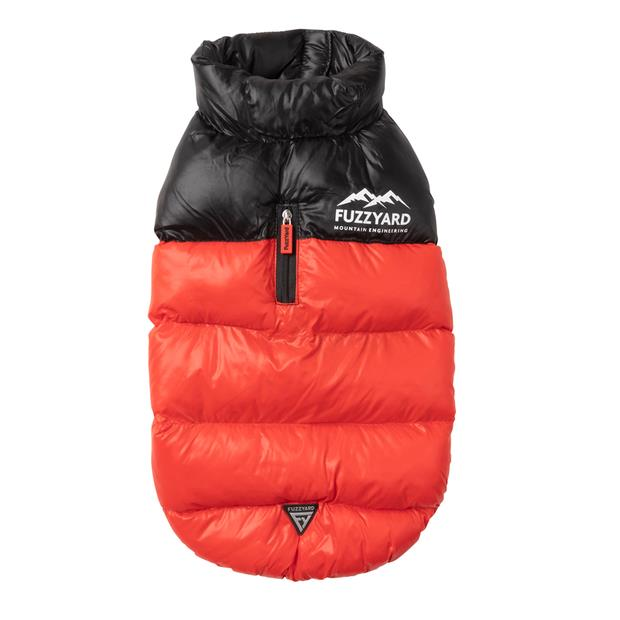 Fuzzyard Harlem Puffer Jacket Red Size 3 Pet: Dog Category: Dog Supplies  Size: 2.2kg Colour: Red  Rich...