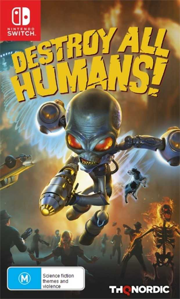 Destroy All HumansThe cult-classic returns! Terrorize the people of 1950s Earth in the role of the evil...