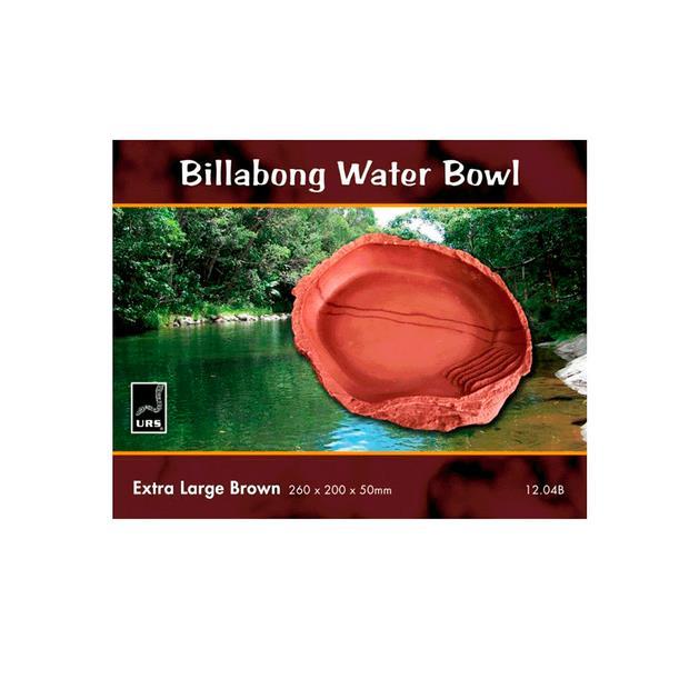 Urs Billabong Bowl Brown X Large Pet: Reptile Category: Reptile & Amphibian Supplies  Size: 1.6kg  Rich...