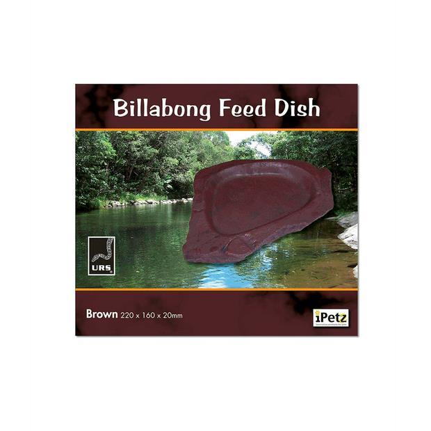 Urs Billabong Feed Dish Brown Each Pet: Reptile Category: Reptile & Amphibian Supplies  Size: 0.5kg...