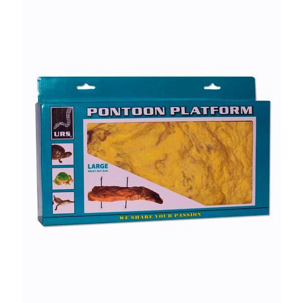 Urs Pontoon Platform Small Pet: Reptile Category: Reptile & Amphibian Supplies  Size: 0.4kg  Rich...