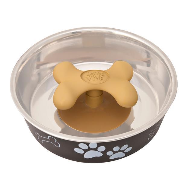Loving Pets Gobble Stopper Medium Pet: Dog Category: Dog Supplies  Size: 9kg Colour: Beige  Rich...