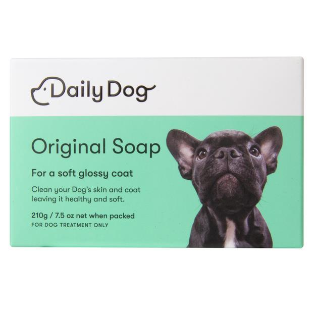 Daily Dog Original Soap Bar 210g Pet: Dog Category: Dog Supplies  Size: 0.2kg  Rich Description: Daily...