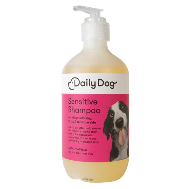 Daily Dog Sensitive Shampoo 500ml Pet: Dog Category: Dog Supplies  Size: 0.6kg  Rich Description: Daily...