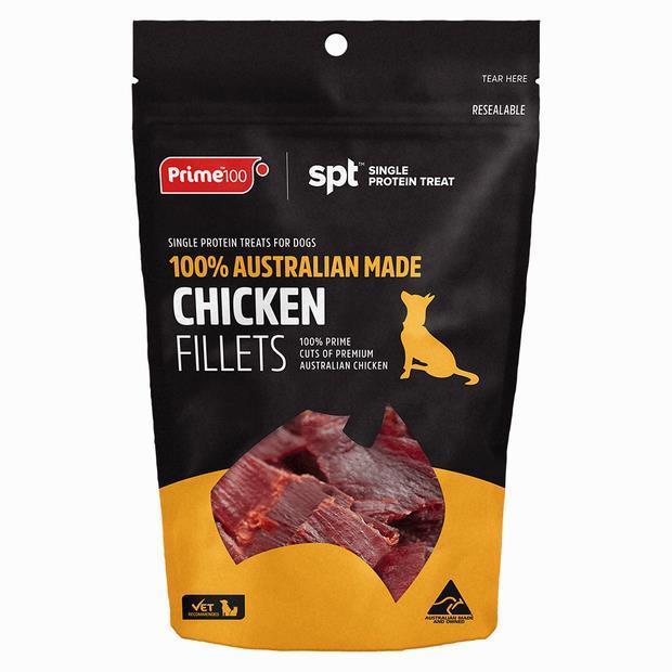 Prime100 Chicken Fillet Treat 100g Pet: Dog Category: Dog Supplies  Size: 0.1kg  Rich Description:...