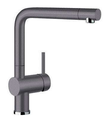 140° Swivel Body Metal-sheathed Hose High Clearance Outlet Engineered in Germany SILGRANIT™ Finish ...