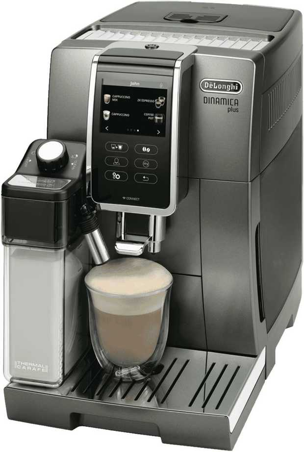Make coffee just the way you like it using this DeLonghi Dinamica Plus ECAM37095T. With the User...