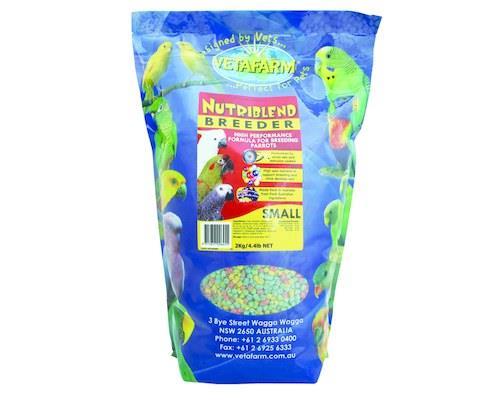 Vetafarm Nutriblend Breeder Pellets, Small, 2kgRecommended for: Breeding Australian and Asiatic...