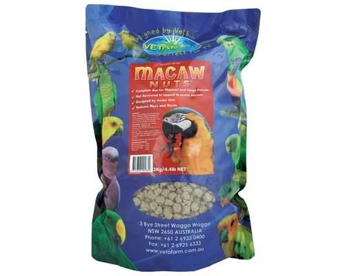 VETAFARM MACAW NUTS 2KGSouth American parrots just can't say no to deez nuts!Made with fresh nuts to...