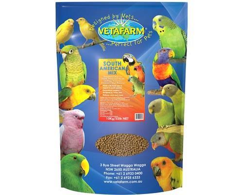 Vetafarm Parrot Breeder Pellets, 10kgRecommended for: Breeding Australian and Asiatic parrotsSuitable...
