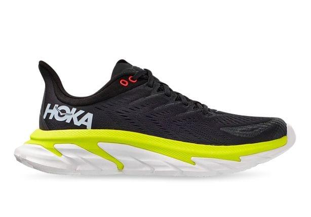 Boost endurance, and run for longer in the Hoka One One Clifton Edge. The super-lightweight structure...