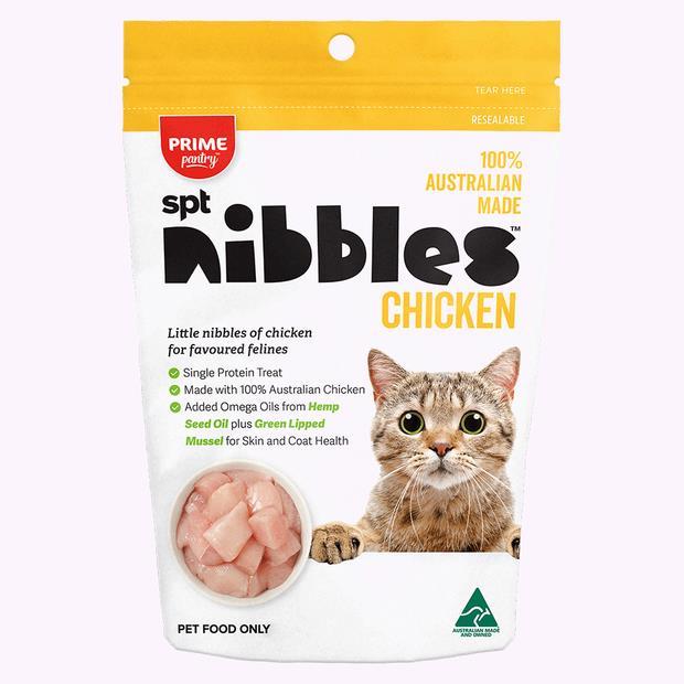 Prime Pantry Nibbles Chicken 2 X 40g Pet: Cat Category: Cat Supplies  Size: 0.1kg  Rich Description:...