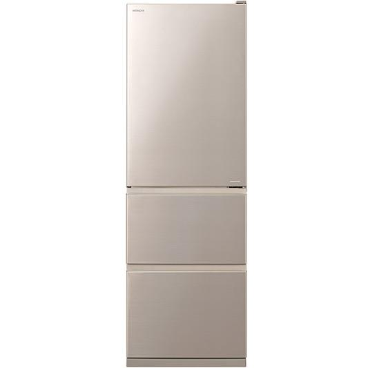 Hitachi - R-S38KPTCNX - 404L Bottom Mount Inverter Fridge - Champagne