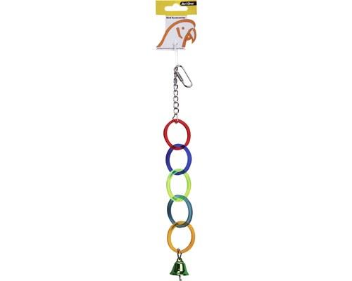AVI ONE BIRD TOY ACRYLIC 5 RINGS WITH BELLThe Avi One Acrylic 5 Rings with Bell Bird Toy is the perfect...