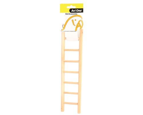 AVI ONE BIRD TOY WOODEN LADDER 7 STEPSThe Avi One Wooden Bird Ladders are the perfect accessory to your...