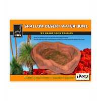 Urs Bowl Red Desert Each Pet: Reptile Category: Reptile & Amphibian Supplies  Size: 1.7kg  Rich...