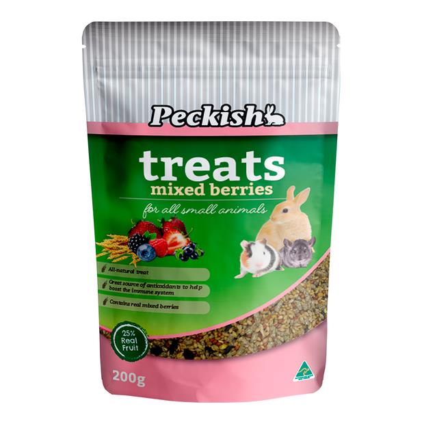 Peckish Small Animal Mixed Berry Treats 200g Pet: Small Pet Category: Small Animal Supplies  Size:...