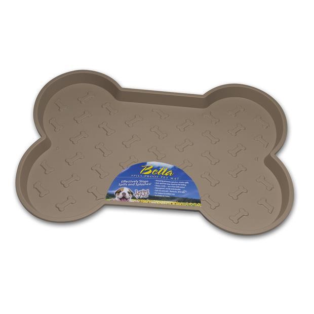 Bella Spill Proof Dog Mat Tan Each Pet: Dog Category: Dog Supplies  Size: 0kg Colour: Tan  Rich...