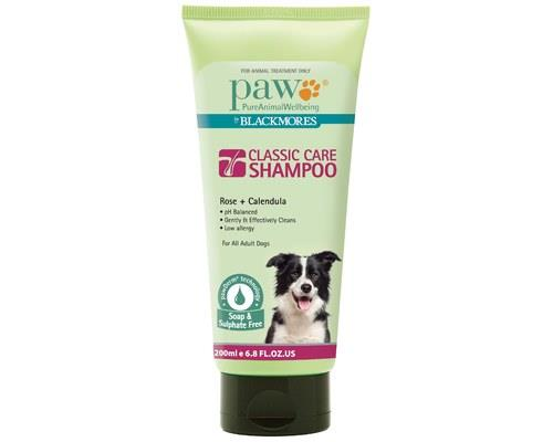 Paw Classic Care Dog Shampoo, 200mlRecommended for: All adult dogs with healthy skinPaw by Blackmores...
