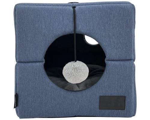 LA DOGGIE VITA CAT CUBE DENIM MARLESometimes cats just need a little 'me time'. Offer them the privacy...